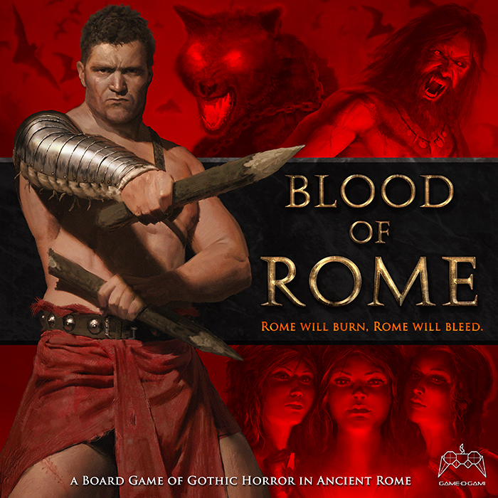 Blood of Rome - board game - cover art