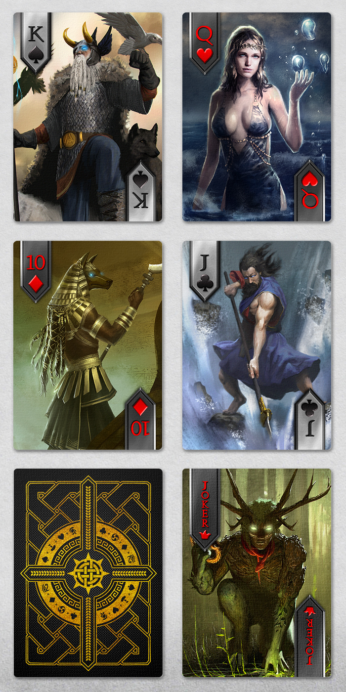 Immortal - Mythology Playing Cards